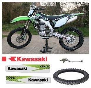 kawasaki dirt bike parts used kawasaki dirt bikes