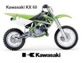 kawasaki kx60 motocross bike for sale