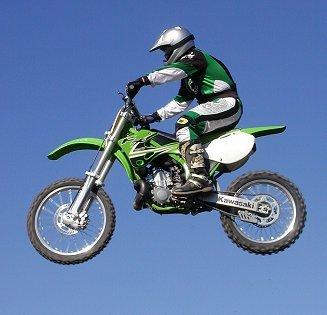 used 125 kawasaki dirt bike