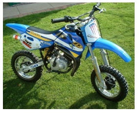 kids Beta 50cc Motocross dirtbike
