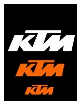 ktm dirtbikes and motocross logos