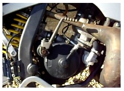 liquid cooled mx engine pit bike