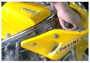 dirt bike photo mini Pasini moto bikes for racing