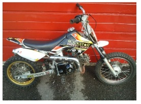 mini dirt bike 110cc small motocross bike