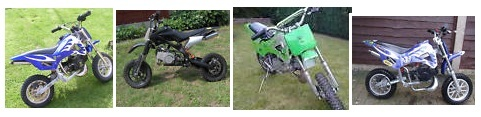 mini dirt bike pictures