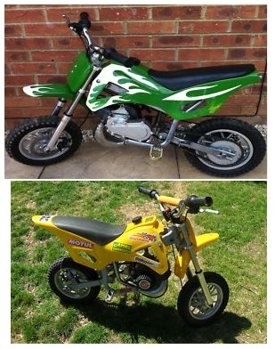 mini dirtbikes for sale how do you pick the right small motocrosser. Black Bedroom Furniture Sets. Home Design Ideas