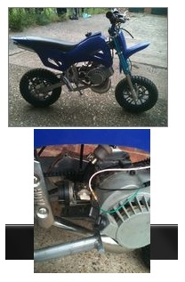 mini pocket dirtbikes for sale