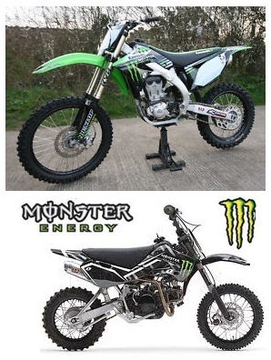 monster pit bike 110cc pit bike