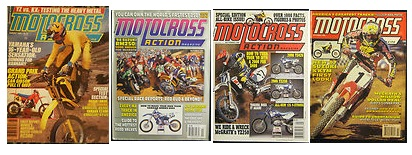 motocross action magazine covers