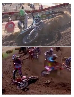 motocross and dirt bike crashes