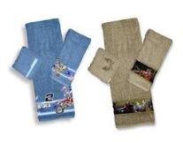 motocross bathtowel sets