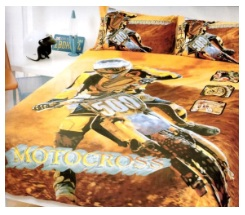 Dirtbike comforter for Dirt bike bedroom ideas