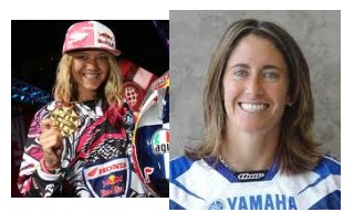 motocross girl Ashley Fiolek and dirtbike lady dee wood