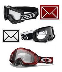 motocross goggles motorcross goggle mail