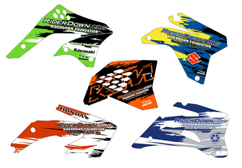 motocross stickers