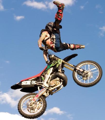 motorcross action