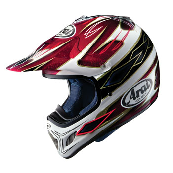 mx gear the dirtbike helmet