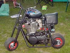 Old mini bike