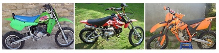 pictures of dirtbikes and motorcross motobikes