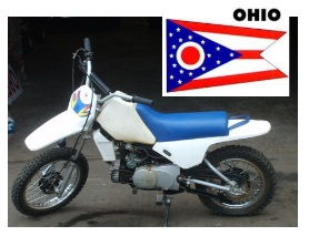 pit bikes in ohio state america