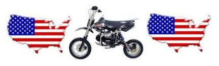 pit bikes in the USA and united states of america