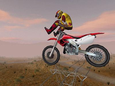 play motocross racing game