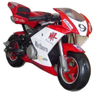 pocket rocket bike