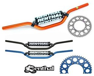 renthal handle bars renthal sprockets