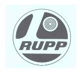 rupp mini dirt bike logo