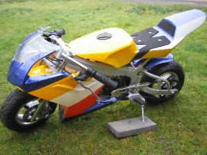super racing pocket bike
