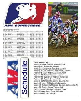 supercross schedule supercross results
