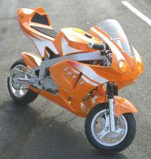 Fast pocket bikes