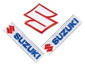 suzuki dirt bike logos