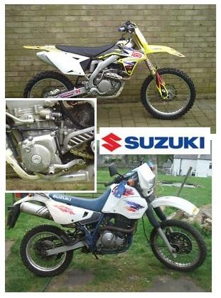 suzuki motorcycle gallery suzuki dr650