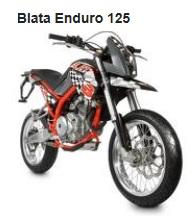 the Blata Enduro 125