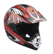 the MADHEAD X1B dirtbike Motocross helmet