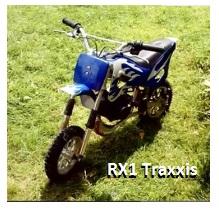 the RX1 Traxxis mini off road bike