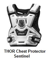the THOR MX Chest Protector Sentinel