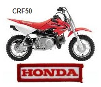the honda CRF50 dirt bike