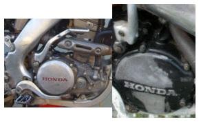 the honda dirt bike engine
