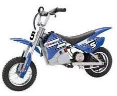 the razor dirt rocket mx350 bike