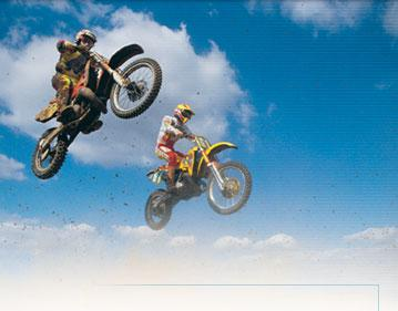 motcross and supercross