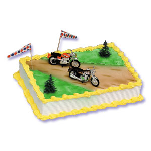 Dirt Bike Cake Decoration Perfectend for