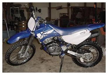 ttr125l Yamaha dirt bike enduro