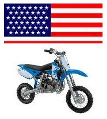usa Minicross X3R Polini dirtbike
