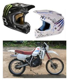 used honda dirt bikes dirt bike helmet