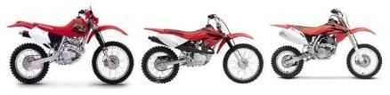 used honda motocross motorcycles