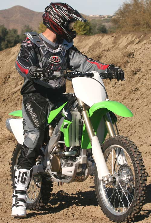 used kawasaki dirt bike