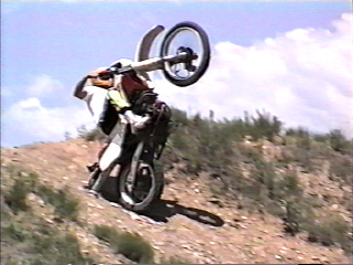 dirtbike wheelies
