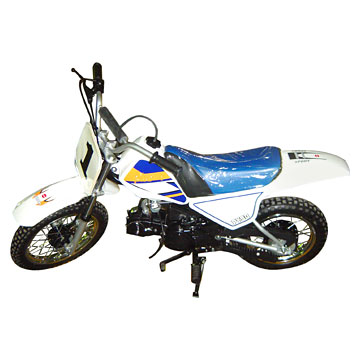 white dirt bike